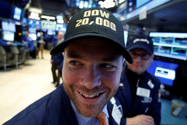 Ο Τραμπ ανέβασε τον Dow Jones στις 20.000 μονάδες   tovima.gr