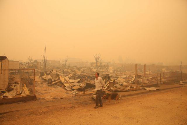 Χιλή: Αντιμέτωπη με πρωτοφανείς γιγαντιαίων διαστάσεων πυρκαγιές   tovima.gr