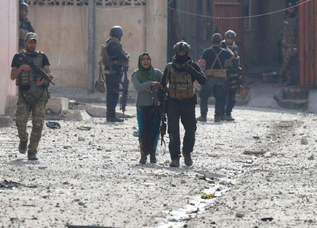 Αντεπίθεση στα δυτικά της Μοσούλης απέτρεψαν οι ιρακινές δυνάμεις   tovima.gr