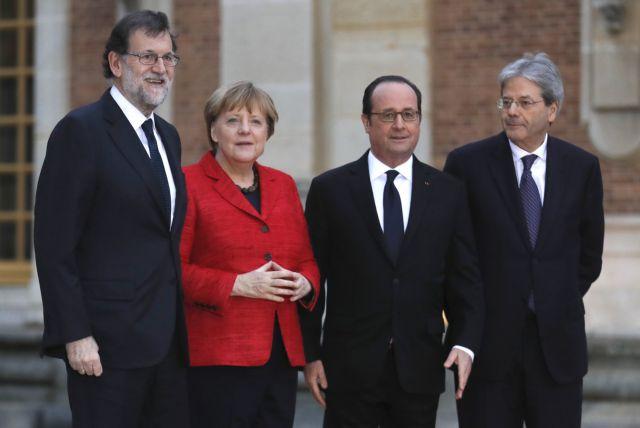 Ευρώπη πολλών ταχυτήτων «βγάζει» η σύνοδος των «ισχυρών» στις Βερσαλλίες | tovima.gr
