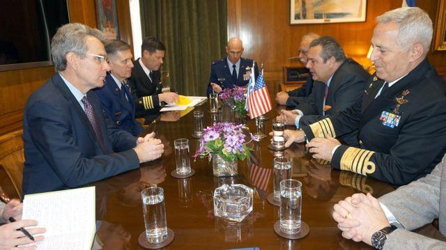 Ενίσχυση της στρατιωτικής συνεργασίας Ελλάδας – ΗΠΑ | tovima.gr