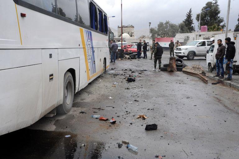Ισλαμιστές ανέλαβαν την ευθύνη για διπλή επίθεση στη Δαμασκό | tovima.gr