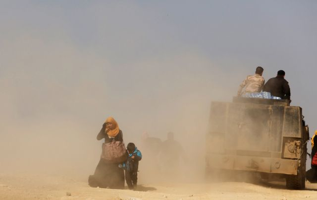 Παγιδευμένοι στη Μοσούλη οι τελευταίοι μαχητές του ISIS   tovima.gr