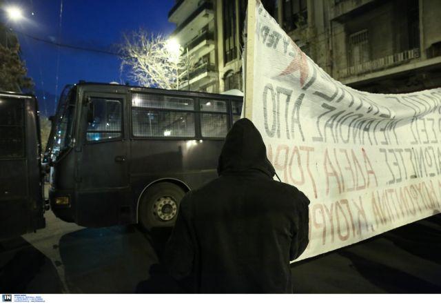 Πορεία διαμαρτυρίας αντιεξουσιαστών στο κέντρο της Αθήνας | tovima.gr
