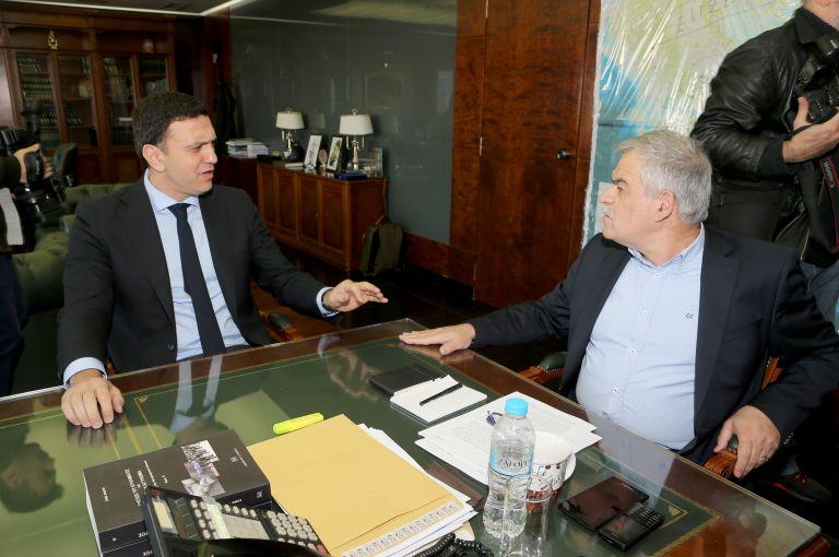 Συναντήσεις Β. Κικίλια με Ν. Τόσκα και αρχηγό της ΕΛΑΣ | tovima.gr