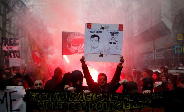 Χιλιάδες ξανά στους δρόμους του Παρισιού κατά της αστυνομικής βίας | tovima.gr