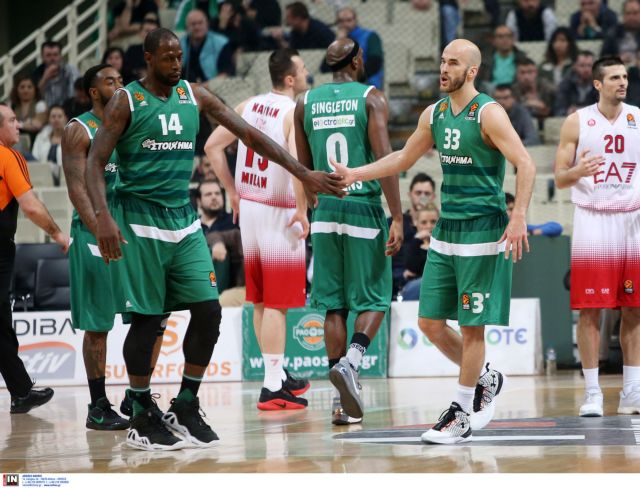 Μπάσκετ – Ευρωλίγκα: Παναθηναϊκός – ΤΣΣΚΑ | tovima.gr