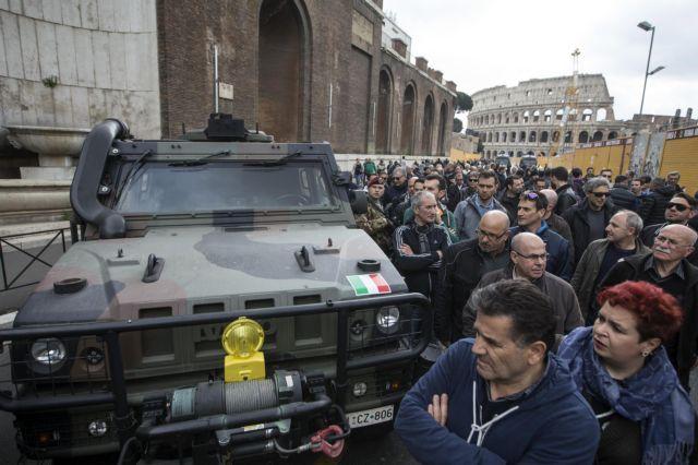 Απεργούν τα ταξί στην Ιταλία λίγο πριν τη Σύνοδο Κορυφής | tovima.gr