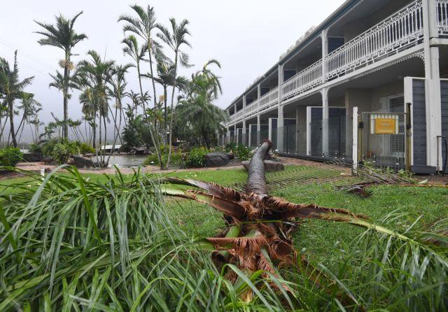 Τη βορειοανατολική Αυστραλία κτύπησε ο κυκλώνας Debbie   tovima.gr