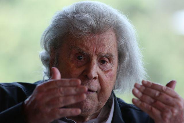 Μ.Θεοδωράκης: Η αναθεώρηση του '86 μαύρη σελίδα στην κοινοβουλευτική ιστορία μας | tovima.gr