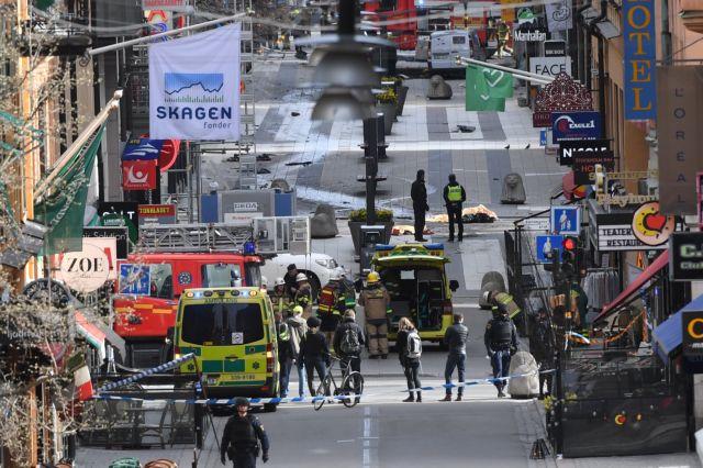 Ήθελε «να συντρίψει τους άπιστους» ο δράστης της Στοκχόλμης | tovima.gr