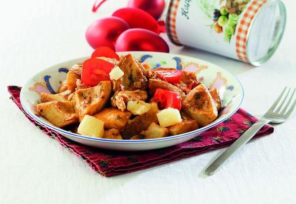 Ζεστή σαλάτα με αγκινάρες και μυρωδικά | tovima.gr
