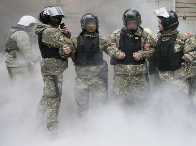 Εκρηξη σημειώθηκε στην αμερικανική πρεσβεία στο Κίεβο   tovima.gr