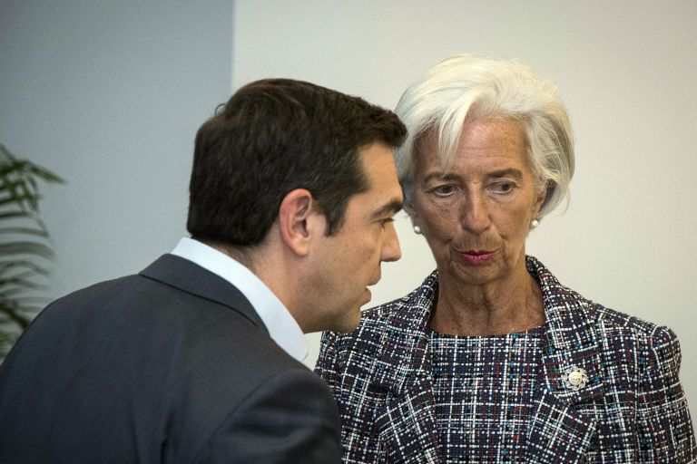 Tsipras to discuss post-bailout supervision, debt restructuring with Lagarde, Moscovici | tovima.gr