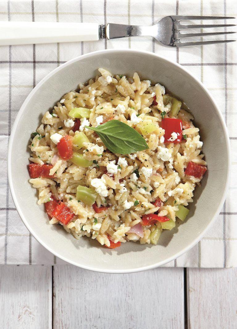 Mανέστρα με φέτα και λαχανικά | tovima.gr