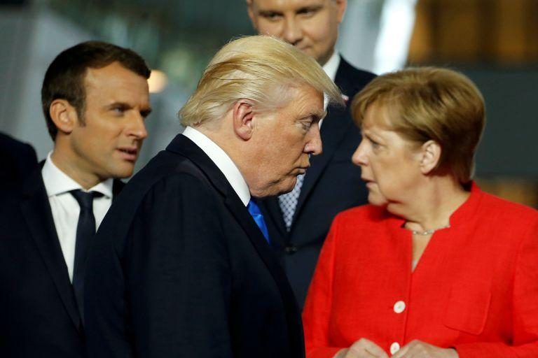 Τραμπ: Υποδέχεται Μακρόν και Μέρκελ στον Λευκό Οίκο | tovima.gr
