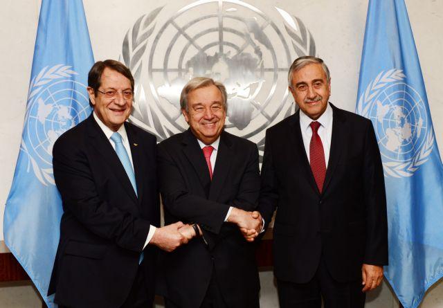 Συνάντηση κύπριου προέδρου με γγ ΟΗΕ στις 22 Σεπτεμβρίου | tovima.gr