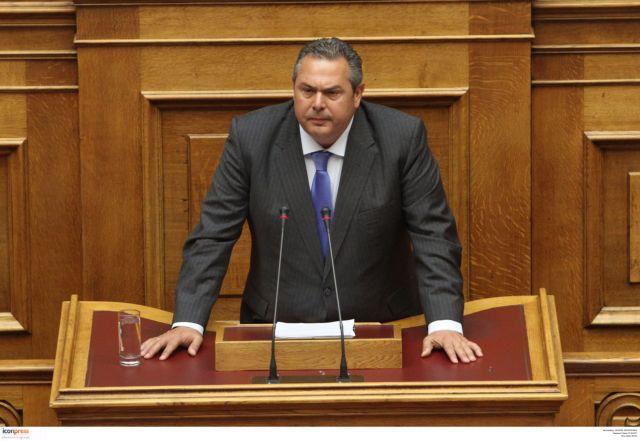 Βουλή: Ερώτηση της ΝΔ για «παραβίαση κανόνων πτήσεων» από τον Π.Καμμένο | tovima.gr