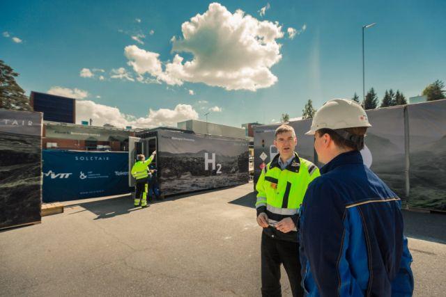 Πειραματική μονάδα στη Φινλανδία παράγει καύσιμα από αέρα | tovima.gr