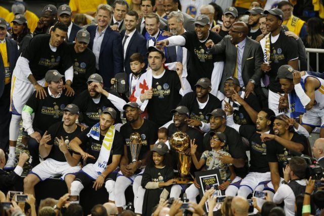 Οι Γουόριορς επέστρεψαν στον θρόνο του NBA | tovima.gr