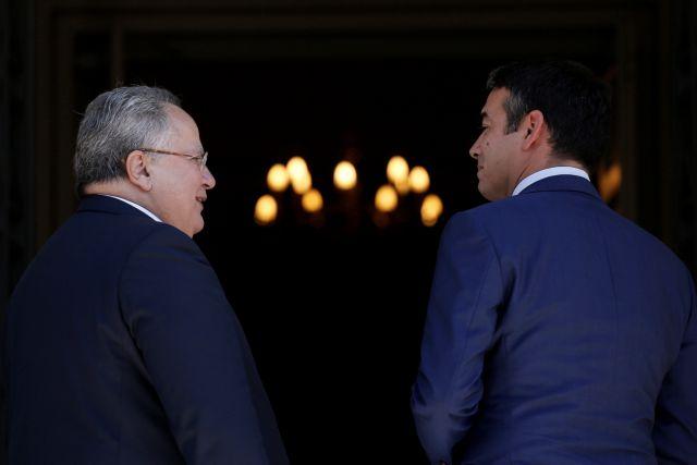 Kotzias, Dimitrov note progress, ply ahead with settlement talks | tovima.gr
