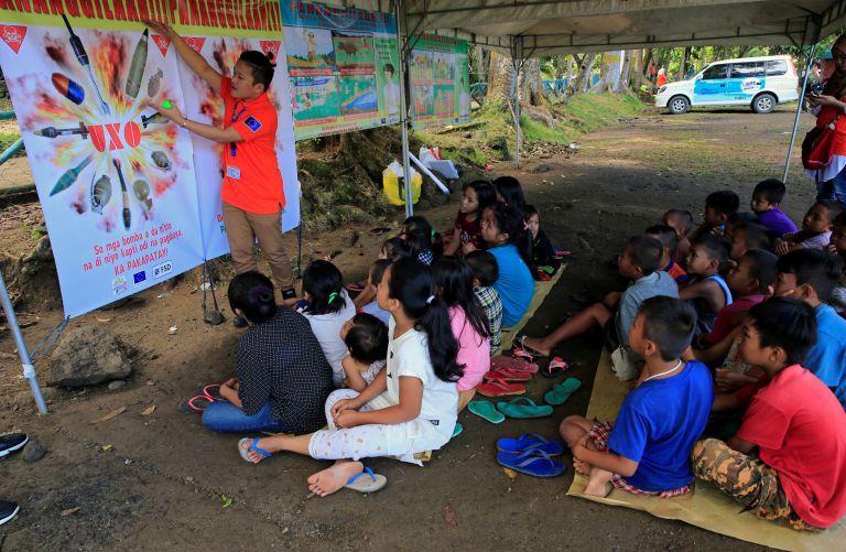 Αναίμακτα έληξε υπόθεση ομηρίας μαθητών στις Φιλιππίνες   tovima.gr