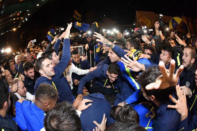 Ξέφρενοι πανηγυρισμοί στη Μπόκα για το γκολ τίτλου από… Μπελούτσι | tovima.gr