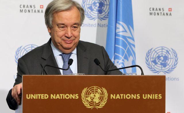 Καμία αναφορά Γκουτέρες στο Κυπριακό στη ΓΣ του ΟΗΕ   tovima.gr