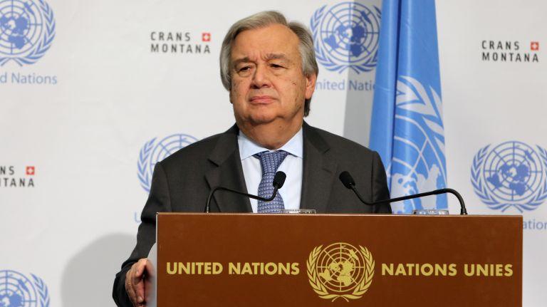 Γκουτέρες: Εκκληση να συνεχιστούν οι διαπραγματεύσεις στο Κυπριακό | tovima.gr