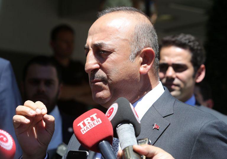 Τσαβούσογλου : Οι απειλές των ΗΠΑ στην Τουρκία δεν θα έχουν αποτέλεσμα | tovima.gr