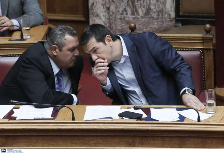 ND charges Tsipras coverup of Kammenos scandal | tovima.gr