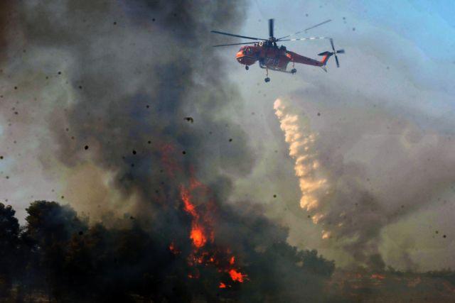 Πιλότος πυροσβεστικού ελικοπτέρου εντόπισε εμπρηστές στη Ζάκυνθο | tovima.gr