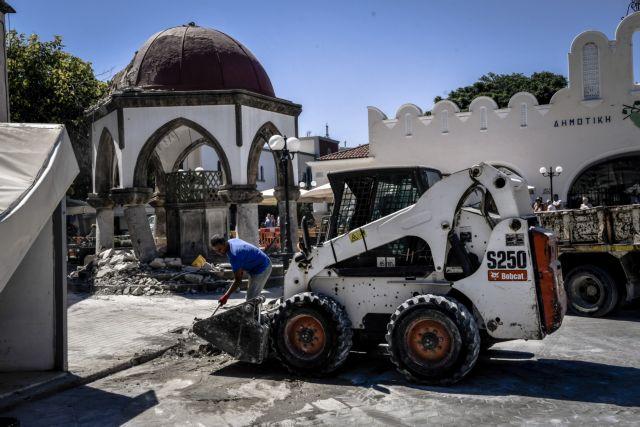 Κως: Στα €95 εκατ. οι ζημιές από τον σεισμό   tovima.gr