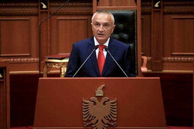 Ιλίρ Μέτα: «Κόκκινη γραμμή» το Σύνταγμα για συμφωνία στις θαλάσσιες ζώνες | tovima.gr