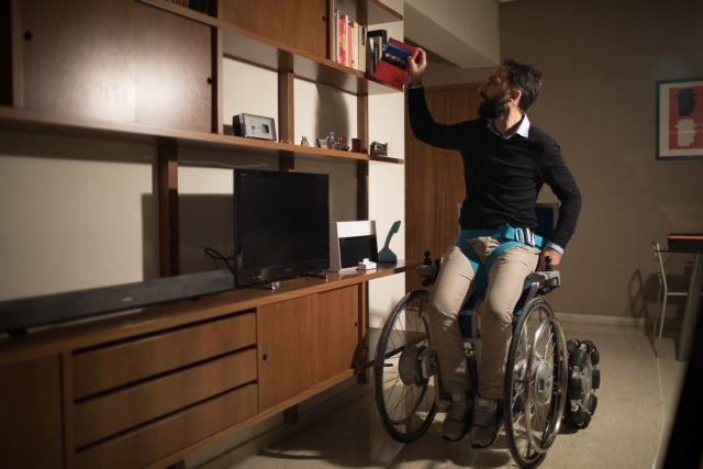 Ελληνική καινοτομία για χρήστες αναπηρικών αμαξιδίων | tovima.gr
