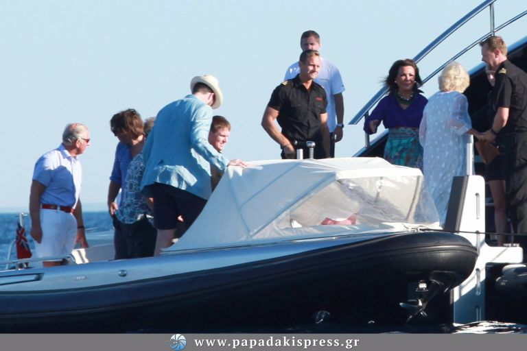 Κάρολος – Καμίλα στο yacht Θόδωρου και Γιάννας Αγγελοπούλου | tovima.gr