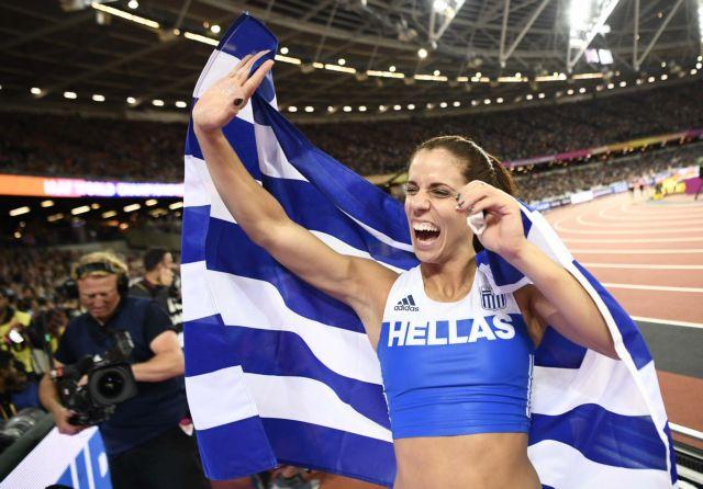 «Χάλκινη» στο Παγκόσμιο Κλειστού η Κατερίνα Στεφανίδη | tovima.gr