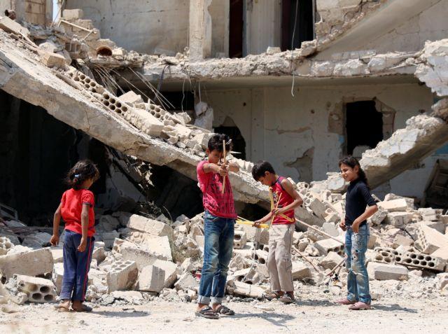 Συρία: 12.000 οι εκτοπισμένοι από την Ντεράα   tovima.gr