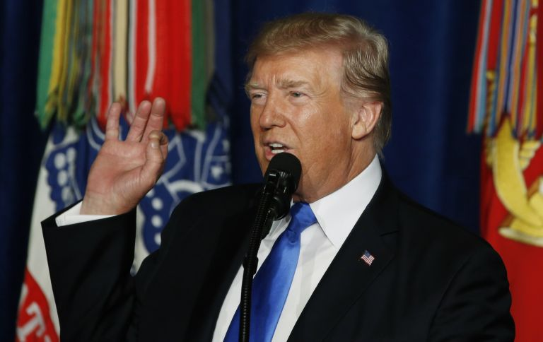 Τραμπ:  Αύξηση στρατευμάτων στο Αφγανιστάν και όχι απόσυρση   tovima.gr
