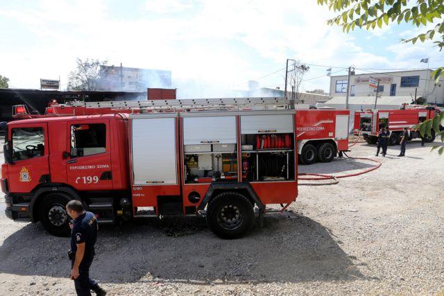 Πυρκαγιά σε διαμέρισμα στην Αχαρνών   tovima.gr