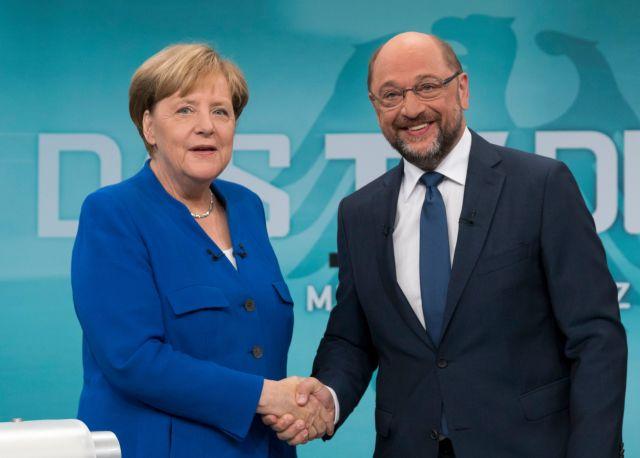 Γερμανία: Πτώση στα ποσοστά των CDU/CSU και SPD | tovima.gr