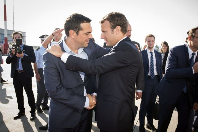 Τι συζήτησαν Τσίπρας – Μακρόν στο Παρίσι   tovima.gr