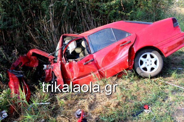Ένας νεκρός και τέσσερις τραυματίες σε τροχαίο στα Τρίκαλα | tovima.gr