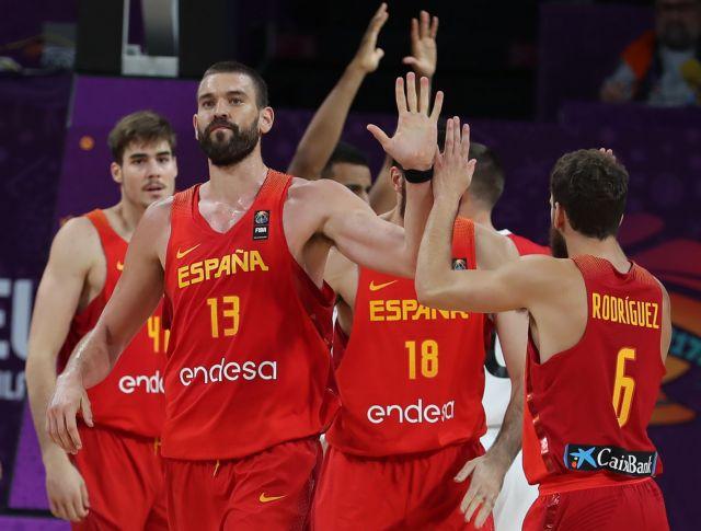Ευρωμπάσκετ: Στα ημιτελικά η Ισπανία, νίκησε 84-72 τη Γερμανία | tovima.gr