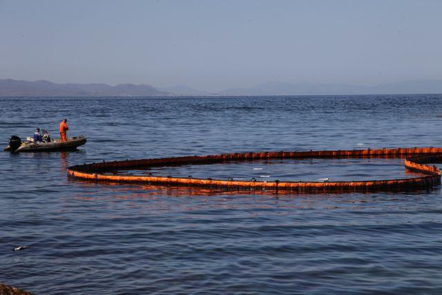 Ρύπανση στη θαλάσσια περιοχή Μώλου ΔΕΗ Κερατσινίου | tovima.gr