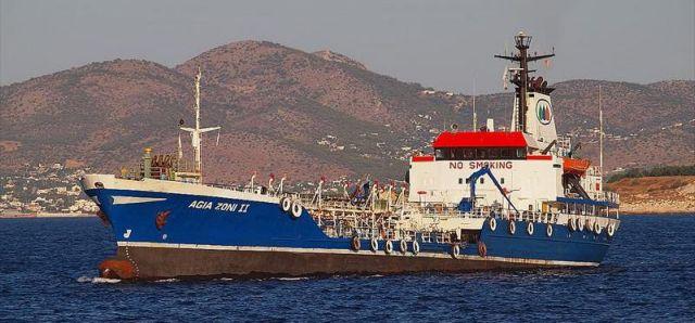 Ερωτηματικά για την ποσότητα καυσίμων που μετέφερε το ΑΓΙΑ ΖΩΝΗ   tovima.gr