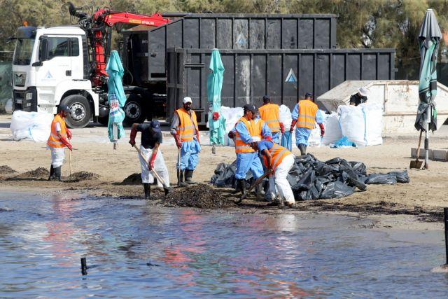 Μέτρα για τις ζημιές από την πετρελαιοκηλίδα ζητά ΓΣΕΒΕΕ | tovima.gr