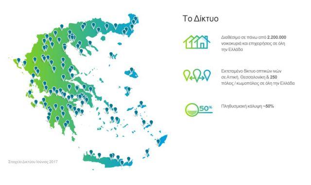 COSMOTE: Διαθέσιμο σε 2,2 εκατ. νοικοκυριά και επιχειρήσεις το δίκτυο οπτικών ινών   tovima.gr