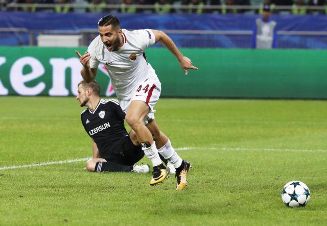 Champions League: Σκόρερ ο Μανωλάς, νίκη της Ρόμα επί της Καραμπάχ | tovima.gr