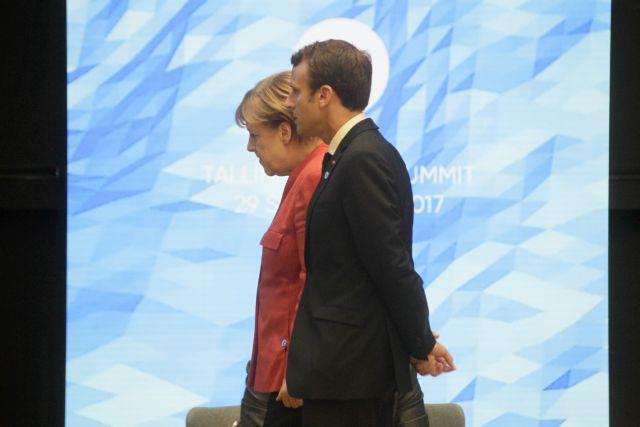 Θετική απάντηση Μέρκελ σε Μακρόν μετά την αποδυνάμωσή της | tovima.gr